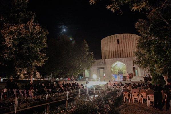 مراسم شب شعر رضوی در مجموعه فرهنگی تاریخی کاخ خورشید کلات برگزار گردید
