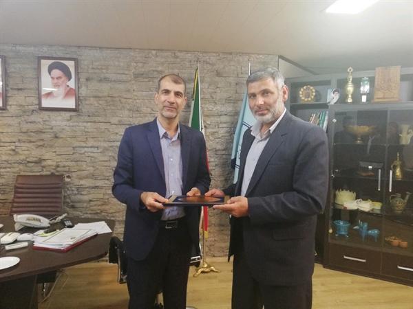 اداره میراث فرهنگی و بسیج سازندگی کرمانشاه تفاهم نامه همکاری امضا کردند