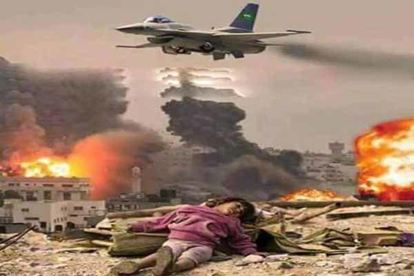 شهادت 2 یمنی در حملات ائتلاف سعودی به الحدیده