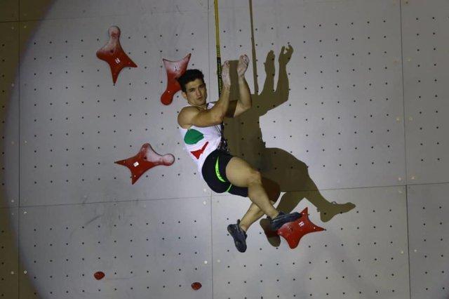 یوزپلنگ ایرانی نفر اول رنکینگ فدراسیون جهانی سنگنوردی