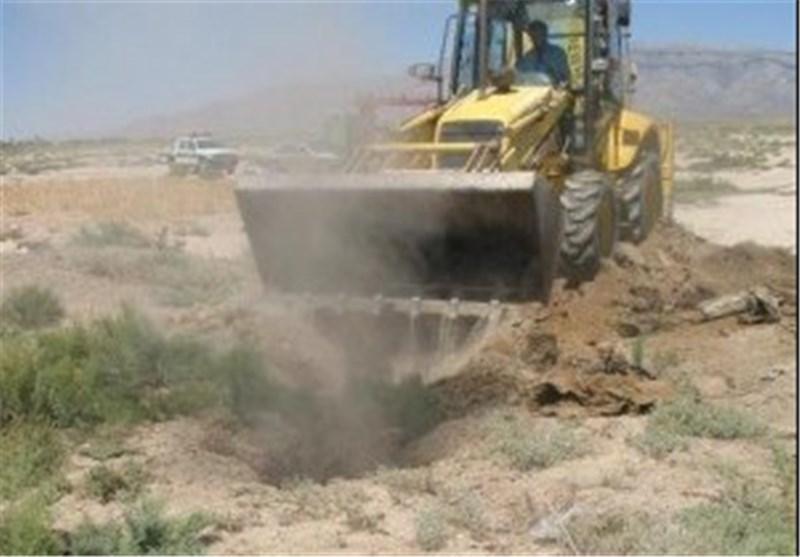 انسداد هزار و 163 چاه غیرمجاز در کبود راهنگ