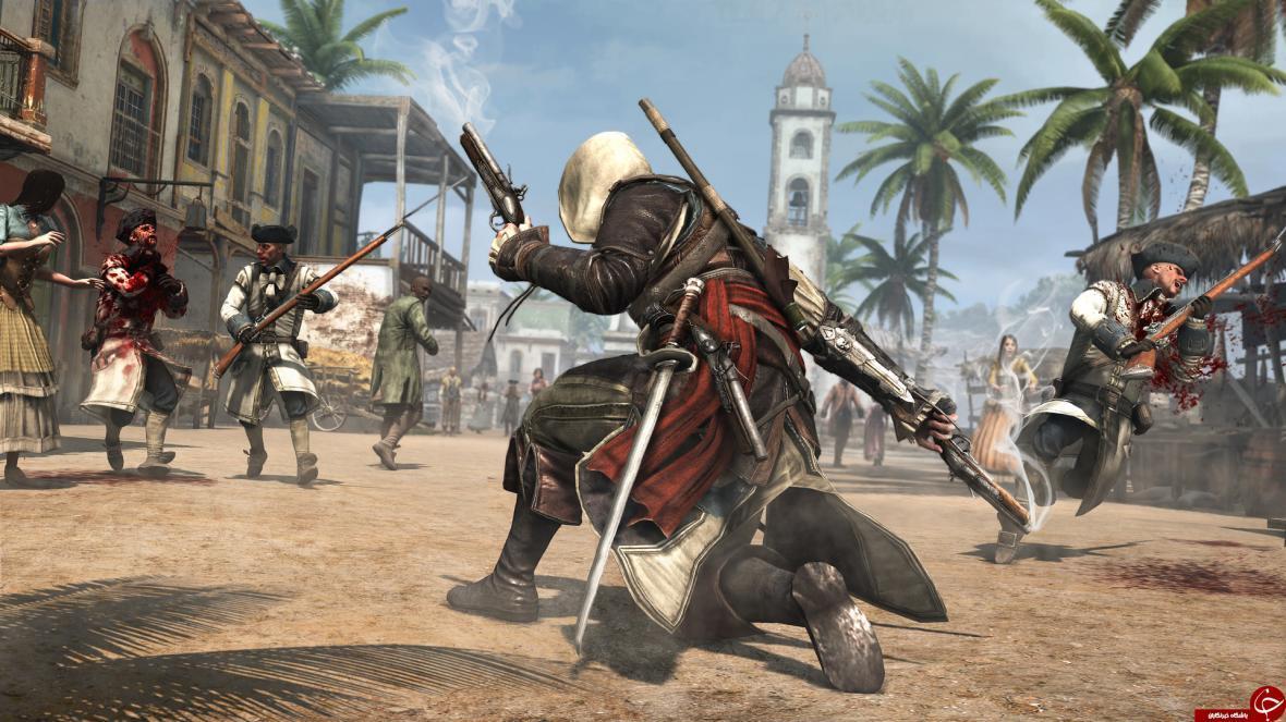 تجربه دوره طلایی دزدان دریایی در بازی Assassins Creed IV: Black Flag