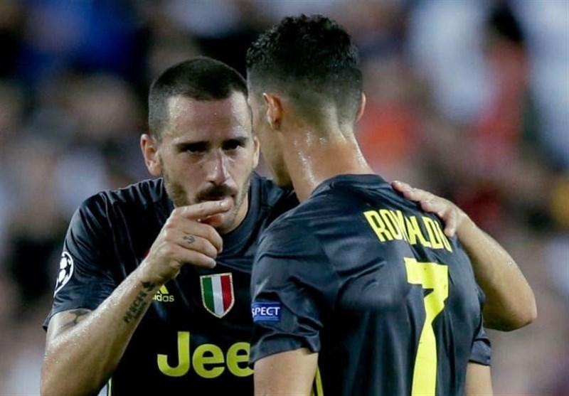 بونوچی: از پیوستن کریستیانو رونالدو به یوونتوس ناراحت شدم!، از رئال مادرید هم پیشنهاد داشتم