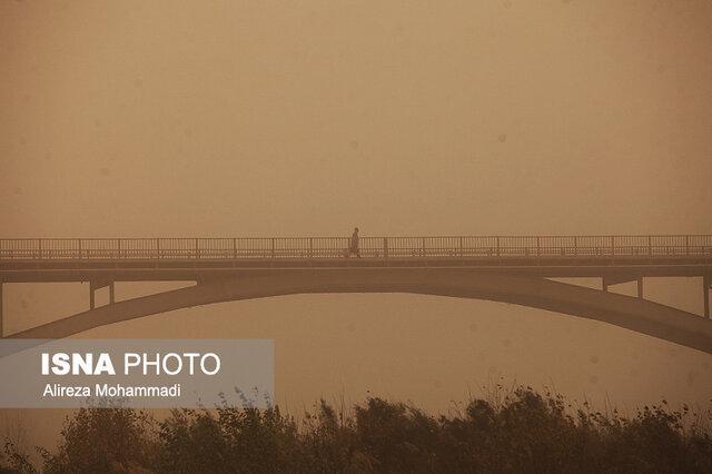 باوجود سیلاب، گرد و خاک از خوزستان می رود؟