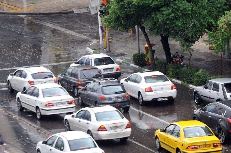 تداوم بارش های پراکنده و رگبار بهاری در بعضی مناطق کشور