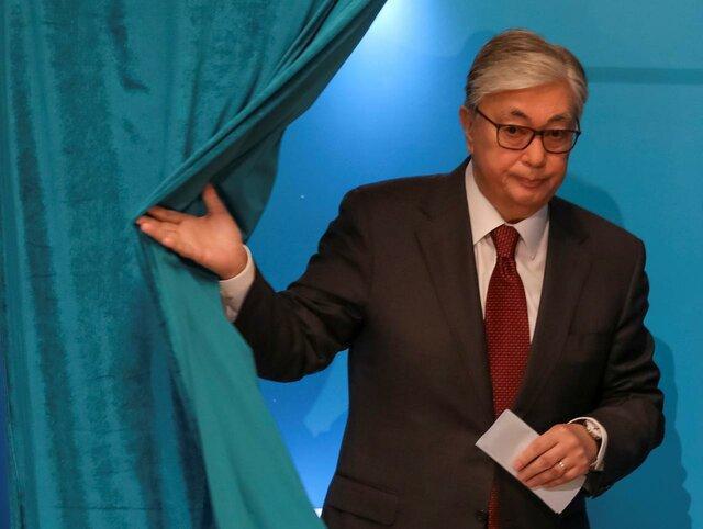 تظاهرات مخالفان هم زمان با برگزاری انتخابات ریاست جمهوری قزاقستان