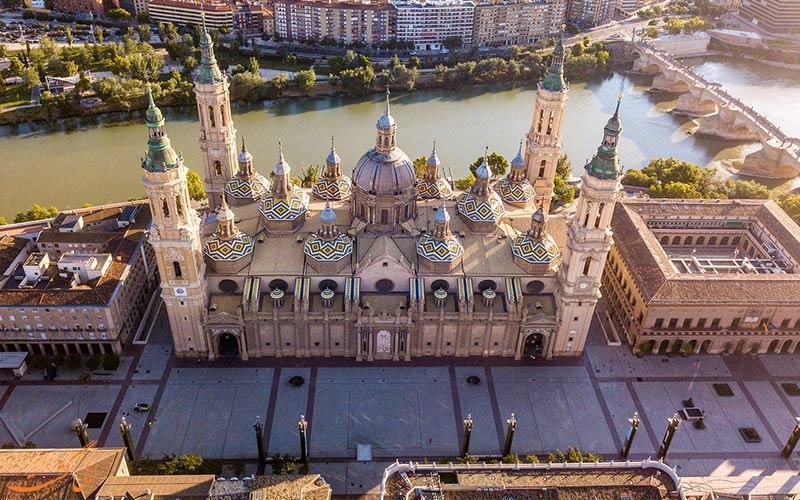 آشنایی با شهر زاراگوزا در اسپانیا با آب و هوایی مدیترانه ای