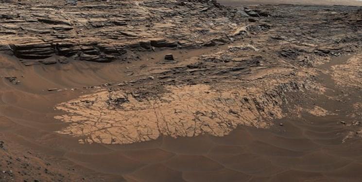 تصاویر حیرت انگیز ناسا از سقوط بهمن در مریخ