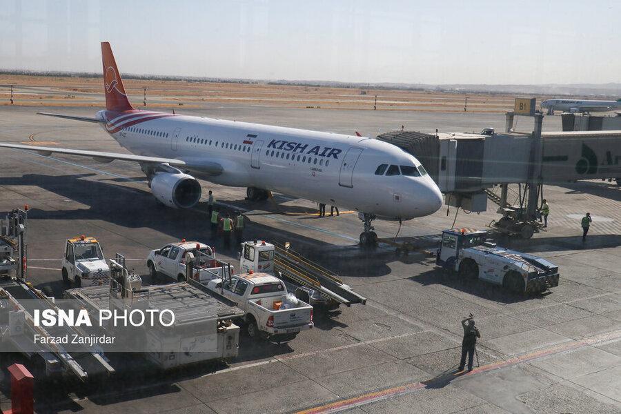 استقبال ایرلاین ها از برقراری پروازهای داخلی در فرودگاه امام(ره)