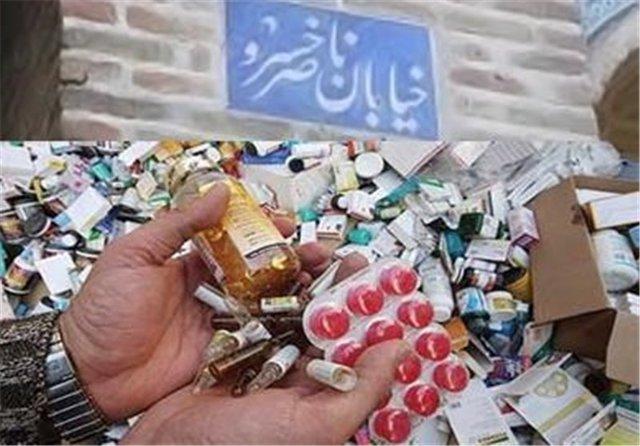درخواست وزارت بهداشت از دستگاه های امنیتی و قضایی برای ورود به بازار ناصرخسرو