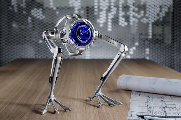 ساعت رباتیکی که جست و خیز می کند