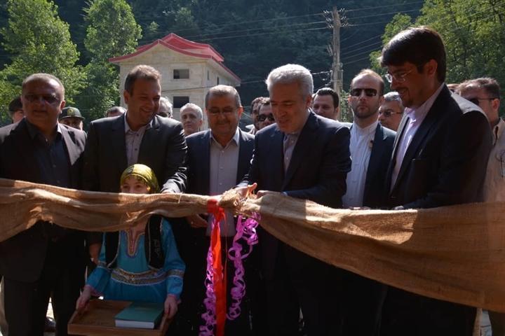 افتتاح هم زمان 43 اقامتگاه بوم گردی در مازندران با حضور دکتر مونسان
