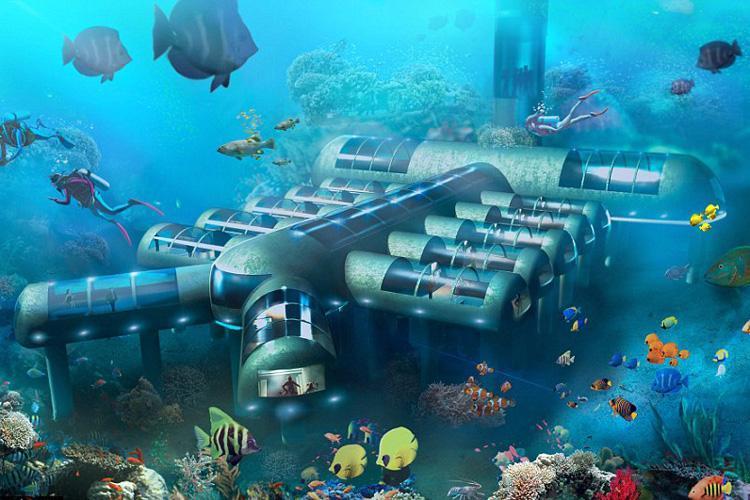 ایده اولیه هتل زیرآبی ثبت شد