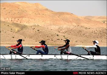 تیم قایقرانی دانشجویان امشب به ایران بر می شود