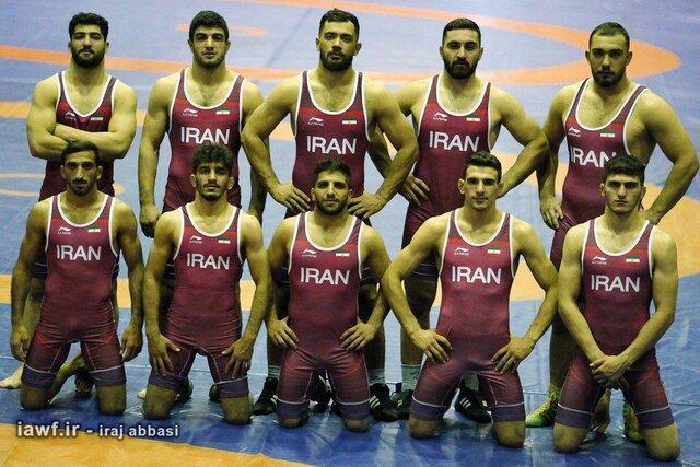 کشتی آزاد ایران با 3 طلا، یک نقره و 2 برنز نایب قهرمان دنیا شد