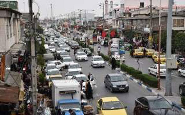 کاهش مشکل ترافیک فریدونکنار با پارکینگ طبقاتی