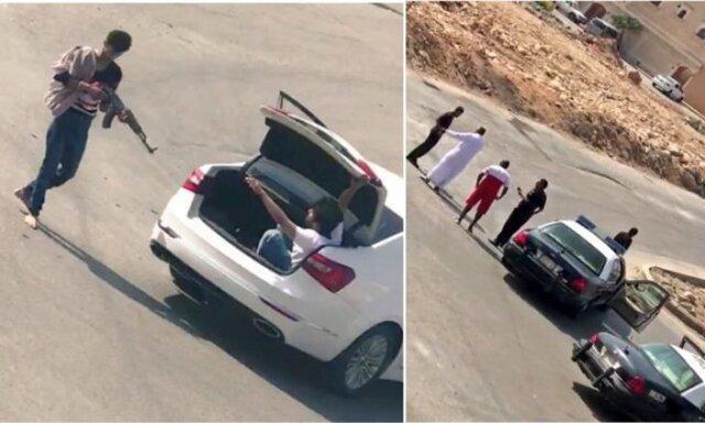 جنجال مجازی در عربستان به دنبال آدم ربایی مسلحانه در روز روشن