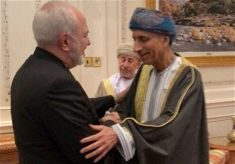 ملاقات ظریف با مقامات ارشد عمان