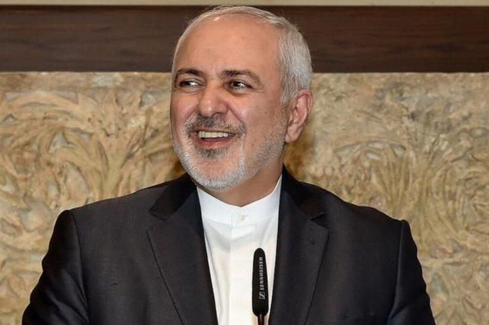 ظریف در توئیت خود از اتفاق نظر سه کشور ایران، چین و روسیه اطلاع داد، عکس