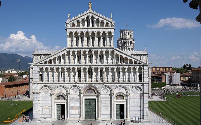 کلیسای جامع پیزا، یکی از مهمترین جاذبه های ایتالیا
