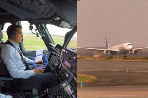 برخاستن اتوماتیک هواپیمای ایرباس بدون دخالت انسان