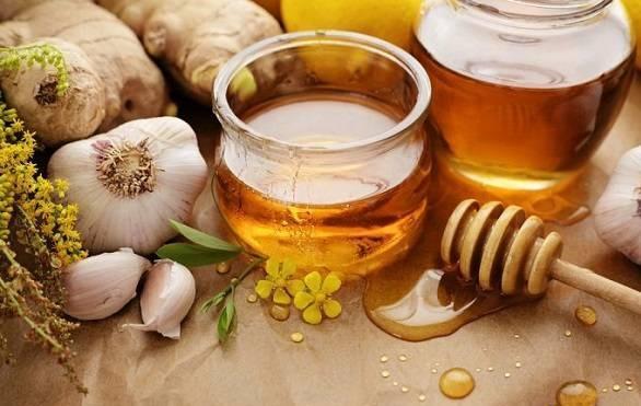 درمان بیماری ها با سیر و عسل
