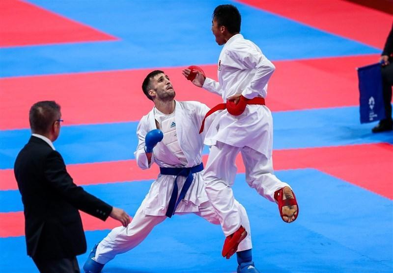 لیگ جهانی کاراته وان پاریس، بهمنیار از رسیدن به ملاقات نهایی بازماند، حذف مهدی زاده، میرزایی و مسکینی در دور نخست