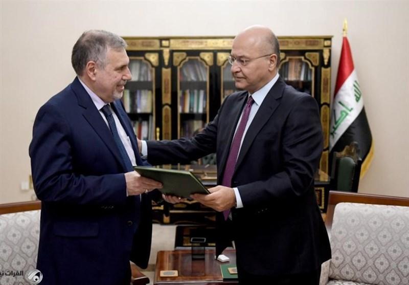 عراق، تقدیر نخست وزیر جدید از مرجعیت، واکنش معترضان به مامور شدن علاوی