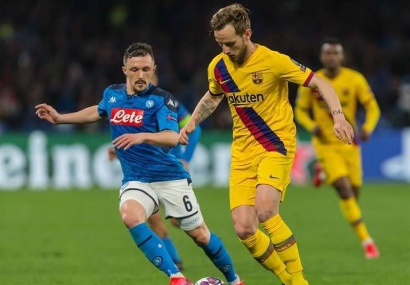 ناپولی شایعه درخواست برای به تعویق افتادن بازی اش با بارسلونا را تکذیب کرد