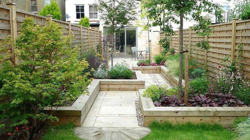 طراحی باغچه در حیاط منزل و 7 نکته الهام بخش