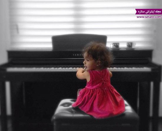 عکس جدید و جالب از تیارا صادقی، دختر رضا صادقی