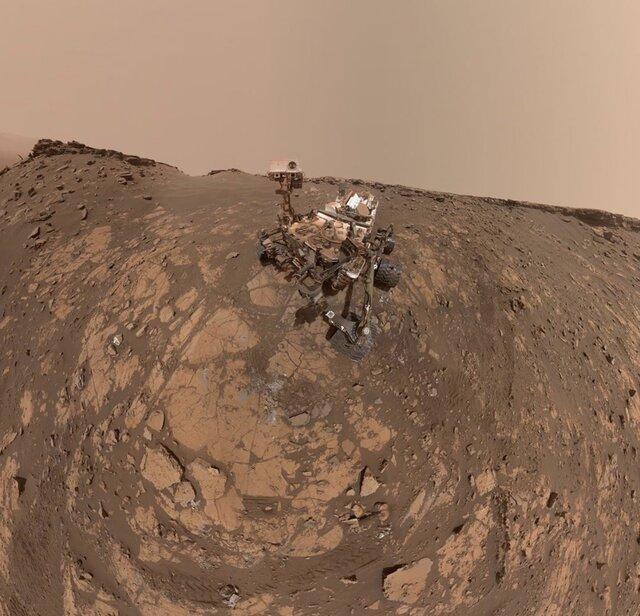مریخ نورد کنجکاوی رکوردی دیگر ثبت کرد