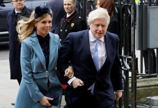 علائم کرونا ویروس در نامزد باردار نخست وزیر بریتانیا