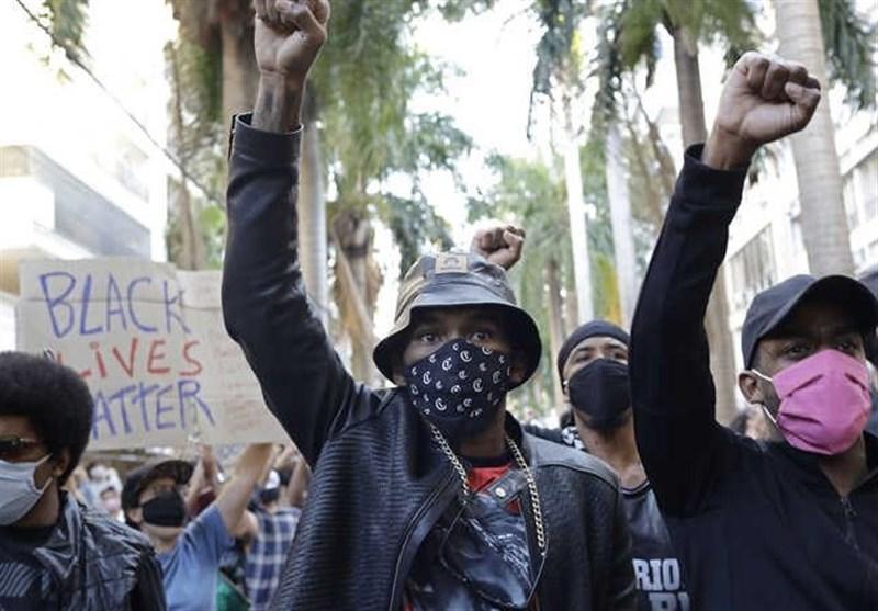 تظاهرات علیه نژادپرستی پلیس این بار در برزیل