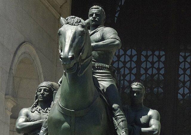 مجسمه تئودور روزولت برداشته می گردد