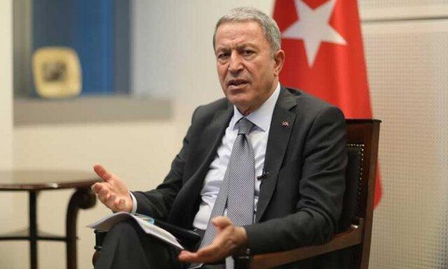 وزیر دفاع ترکیه: آذربایجان تنها نیست