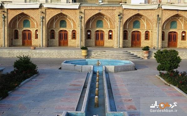 کاروانسرای خانات؛یادگار زیبای قاجار در تهران، عکس