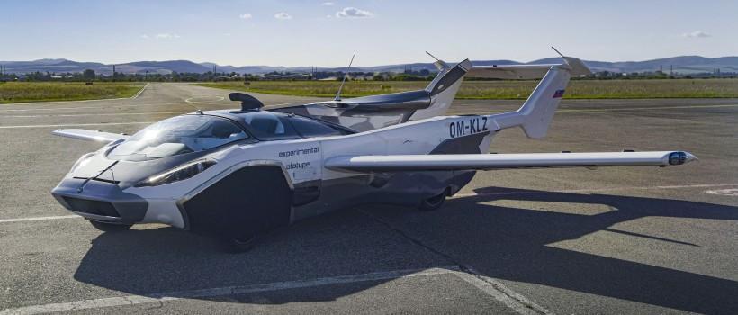 خودرویی که در کمتر از 3 دقیقه هواپیما می شود