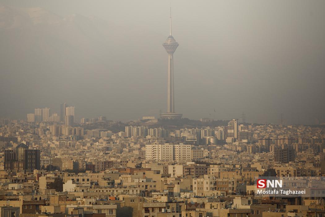 هوای تهران همچنان آلوده