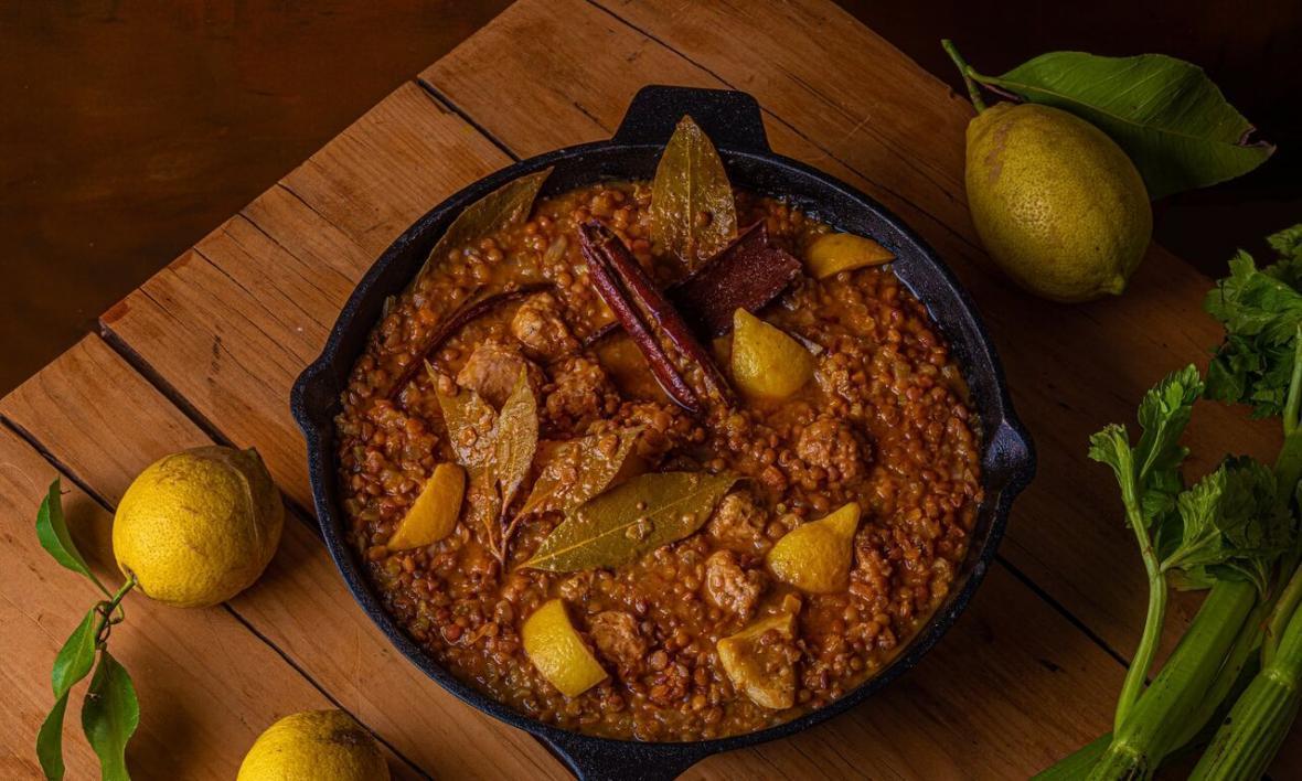 خوراک عدس و لیمو؛ غذای شانس ایتالیایی ها