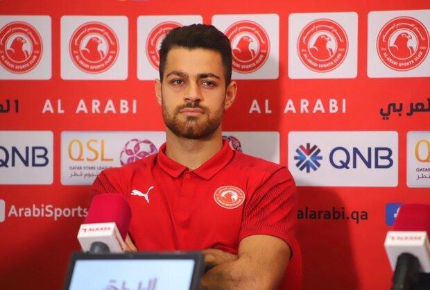 تیم العربی قطر به دنبال پرکردن جای مدافع ایرانی
