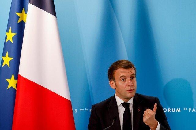 مکرون: اروپا حتی با دولت جدید آمریکا هم نیازمند دفاع مستقل است
