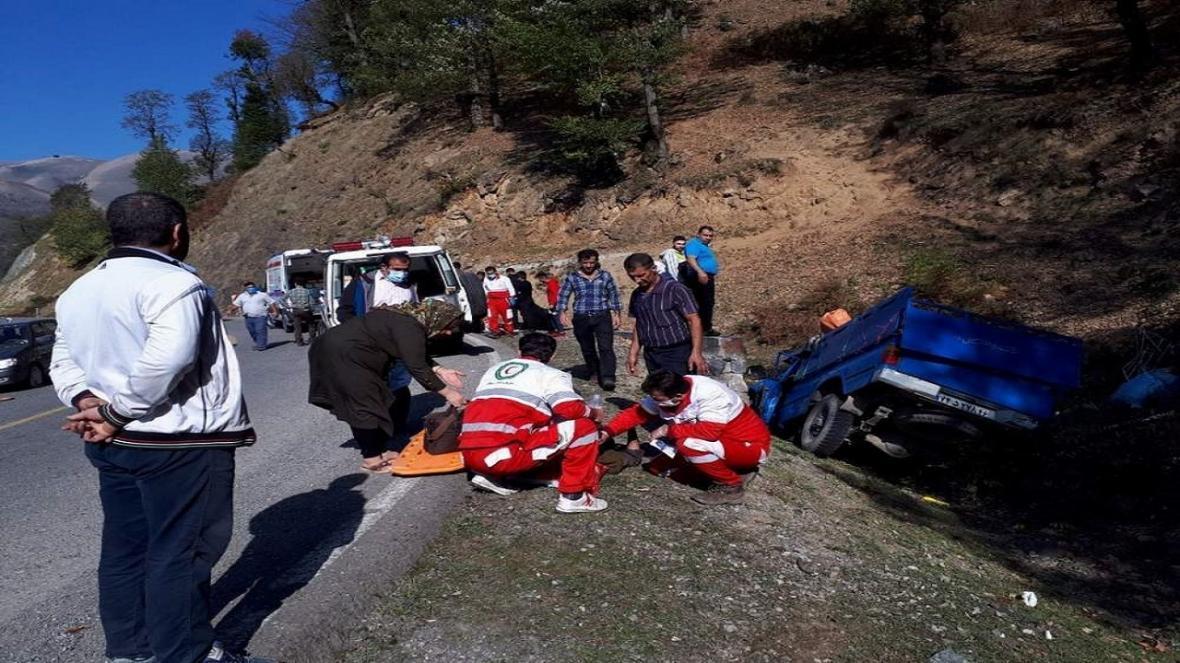 امدادرسانی به 90 حادثه دیده در استان اردبیل