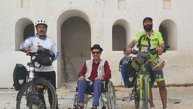 رکاب زنی دوچرخه سواران از سیراف تا بوشهر