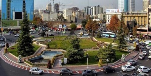 ترافیک خودرو ها در میدان ونک به زیر زمین انتقال می یابد