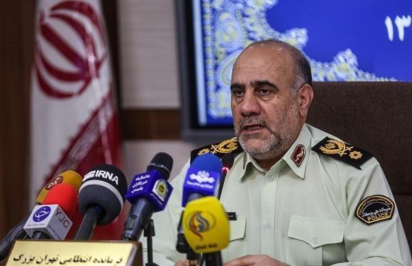 فرمانده انتظامی تهران عظیم: به 2 هزار واحد صنفی متخلف تذکر دادیم