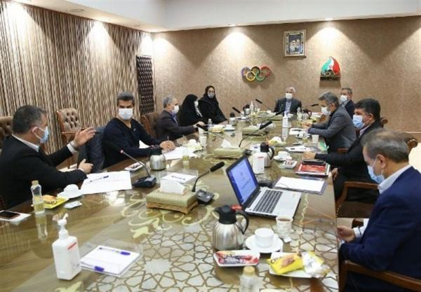 آنالیز شرایط اعزام کاروان ایران به المپیک و تصویب هزینه های ریالی و ارزی
