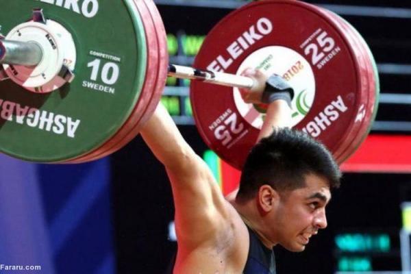 (ویدئو) مصدومیت شدید وزنه بردار ایرانی در قهرمانی آسیا