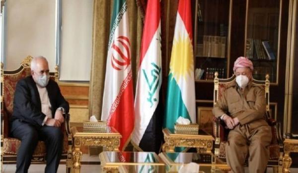 در ملاقات ظریف با رهبر حزب دمکرات کردستان عراق چه گذشت؟