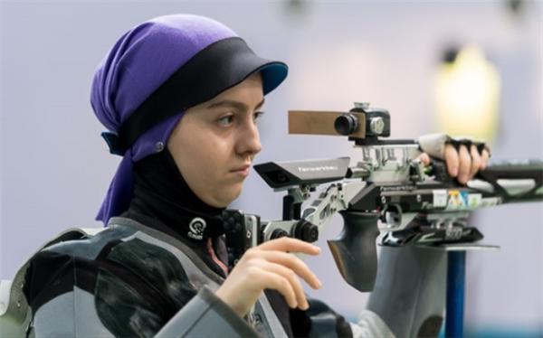 تیراندازی جایزه عظیم کرواسی؛ دختر ایرانی به مدال نقره رسید